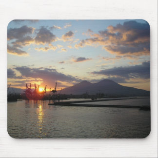 Resplandor de Vesuvio Sun Tapetes De Raton