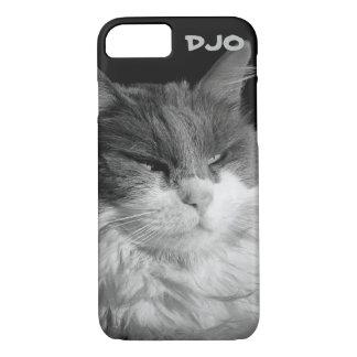 Resplandor del gato del palo funda iPhone 7