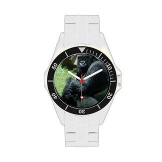 Resplandor del gorila relojes de pulsera