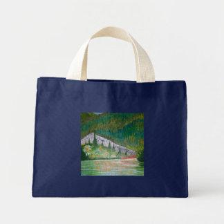 Resplandor del lago bolsa de mano