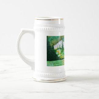Resplandor del lago jarra de cerveza