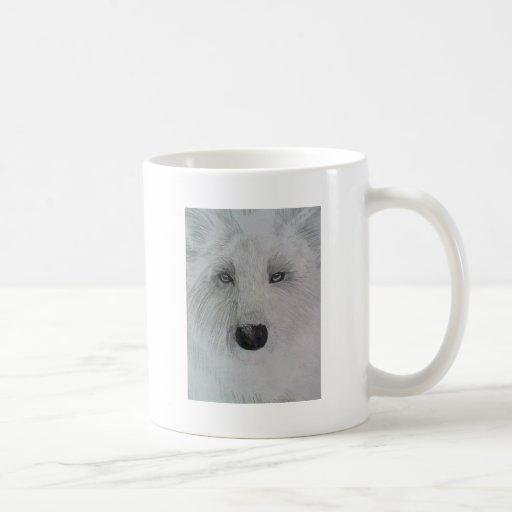 Resplandor del lobo taza