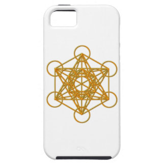 Resplandor del oro de Metatron Funda Para iPhone 5 Tough