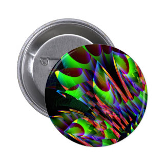 Resplandor en el Abstract.JPG oscuro Pin Redondo De 2 Pulgadas