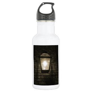 Resplandor en el callejón botella de agua de acero inoxidable