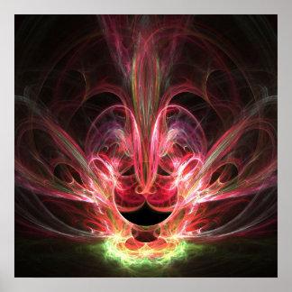 Resplandor místico - poster