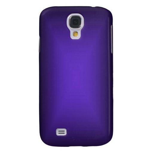 resplandor púrpura fresco del caso del iPhone Funda Para Galaxy S4