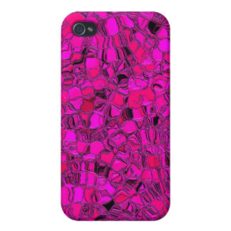 Resplandor rosado iPhone 4 coberturas