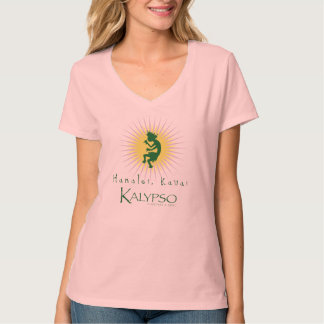Resplandor solar amarillo de Kalypso Kane Playera