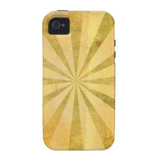 Resplandor solar amarillo sucio iPhone 4/4S carcasa