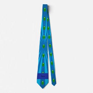 Resplandor solar azul extranjero conocido corbata