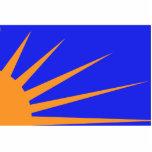 Resplandor solar, bandera política de Colombia Esculturas Fotograficas