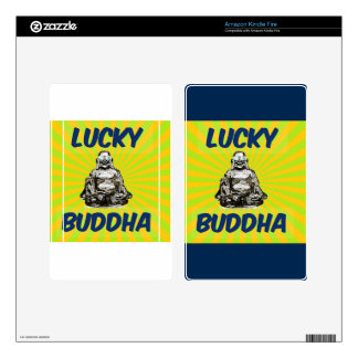 Resplandor solar Buda Kindle Fire Pegatina Skin