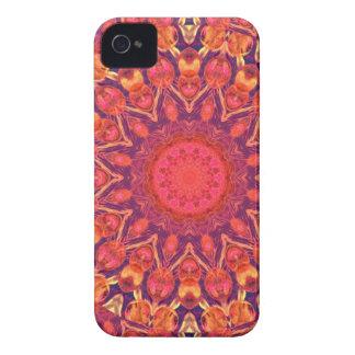 Resplandor solar, danza del círculo de la estrella Case-Mate iPhone 4 funda