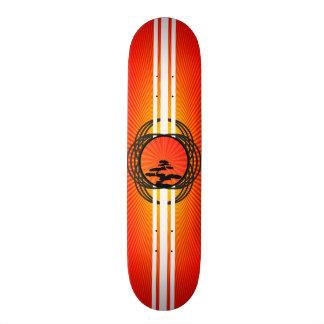 Resplandor solar de Bonzi Skate Board