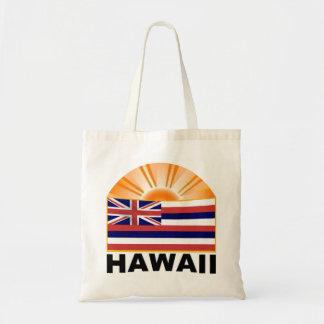 Resplandor solar de Hawaii Bolsa Tela Barata
