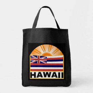 Resplandor solar de Hawaii Bolsa Tela Para La Compra