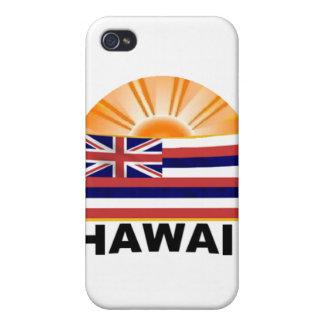 Resplandor solar de Hawaii iPhone 4 Fundas
