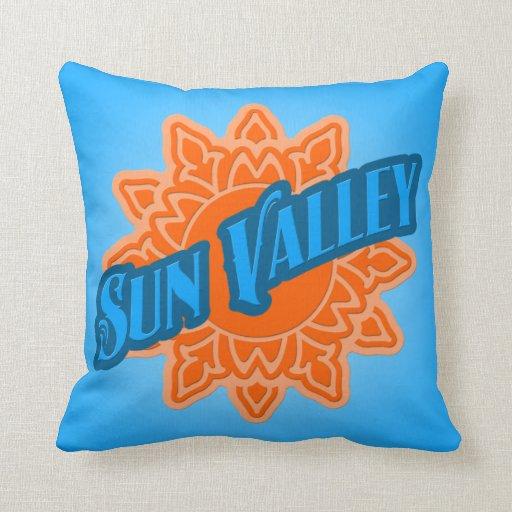 Resplandor solar de Sun Valley Cojin