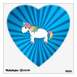 Resplandor solar del azul del unicornio