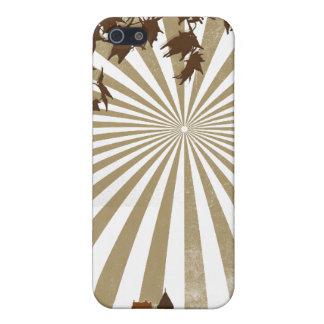 Resplandor solar del Grunge iPhone 5 Carcasas