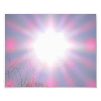 Resplandor solar fotografía