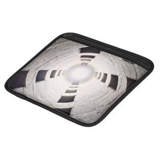Resplandor solar glaring blanco y negro mangas de iPad