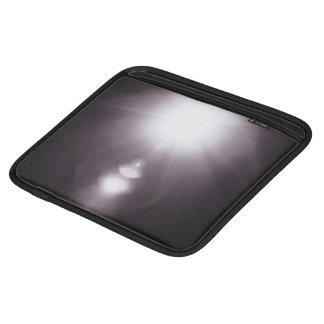 Resplandor solar Glaring temático, blanco y negro Mangas De iPad