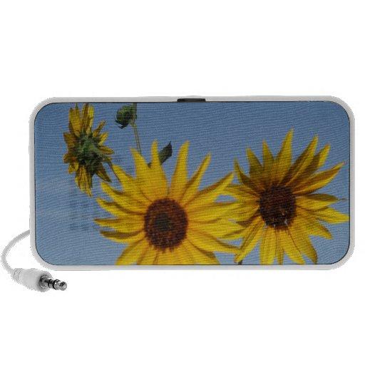 Resplandor solar iPod altavoces