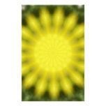 Resplandor solar papelería de diseño