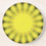 Resplandor solar posavasos personalizados