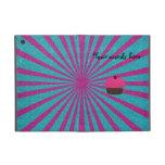 Resplandor solar rosado lindo del brillo de la mag iPad mini carcasas
