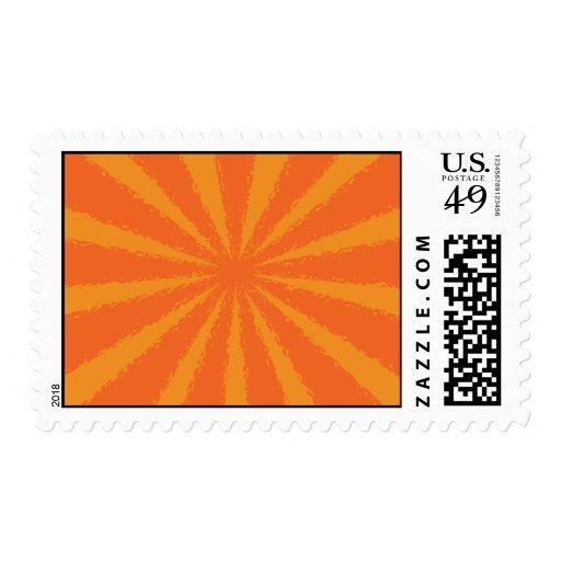 Resplandor solar sello