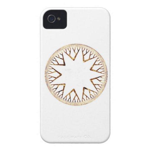 Resplandor solar uno Case-Mate iPhone 4 funda