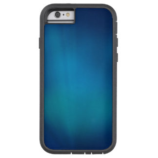 Resplandor subacuático azul profundo funda de iPhone 6 tough xtreme