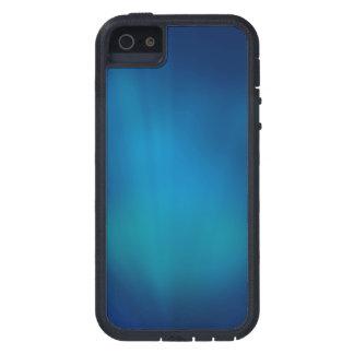 Resplandor subacuático azul profundo iPhone 5 fundas
