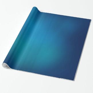 Resplandor subacuático azul profundo