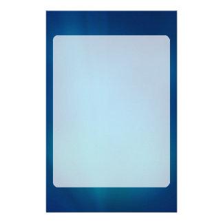 Resplandor subacuático azul profundo papeleria