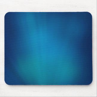 Resplandor subacuático azul profundo alfombrilla de ratón