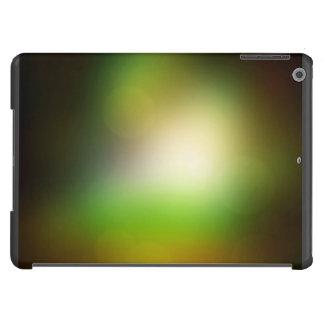 Resplandor verde funda para iPad air