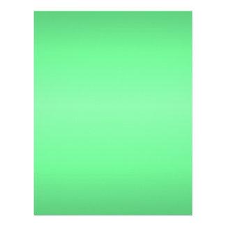 Resplandor verde membrete