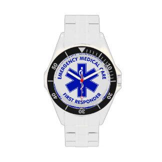 Respondedor de la asistencia médica de la relojes de pulsera