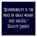 Responsabilidad 1 de la pérdida de peso impresiones