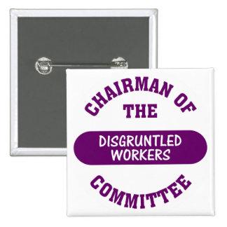 Responsable del comité contrariedad de los pin cuadrado