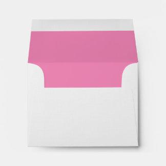 Response Card Envelope Pink