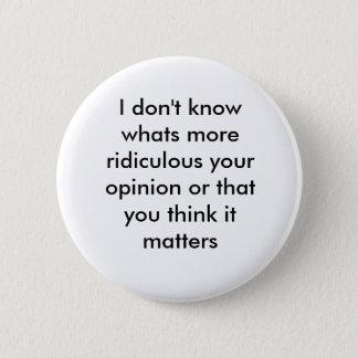 response pinback button