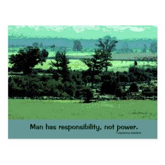 responsibilities postcard
