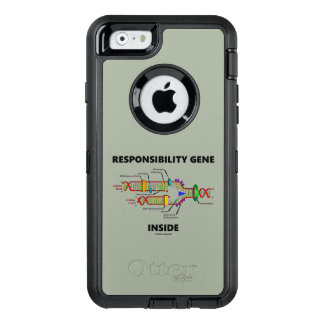 Responsibility Gene Inside DNA Genetics Humor OtterBox Defender iPhone Case