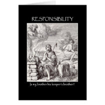 responsibility-is-my-brother-his-keepers-brother greeting card