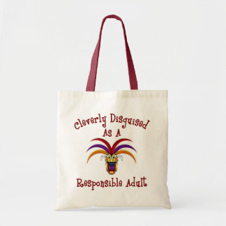 Responsible Adult Tote Bags